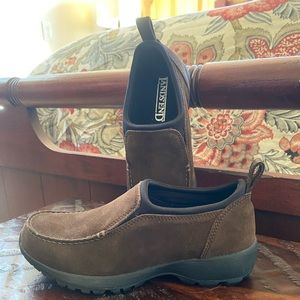 Lands End slip on shoes